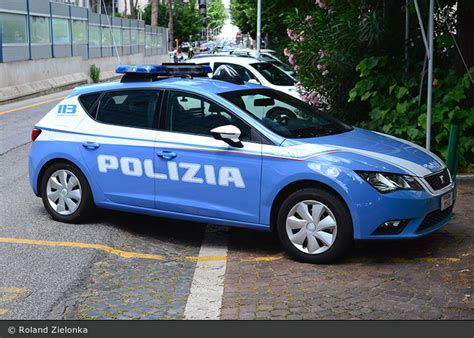 polizia di stato squadra volante einsatzfahrzeug roma polizia di stato squadra volante