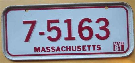 Mass Rmv Vanity Plate Availability by 1999 Amherst Massachusetts License Plate Alpca Meet Tag