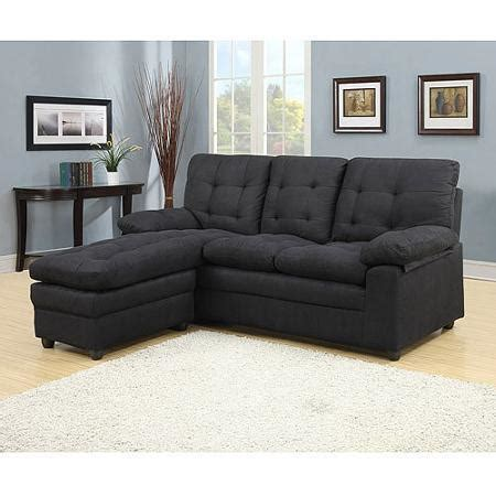buchannan microfiber sectioal sofa with from walmart