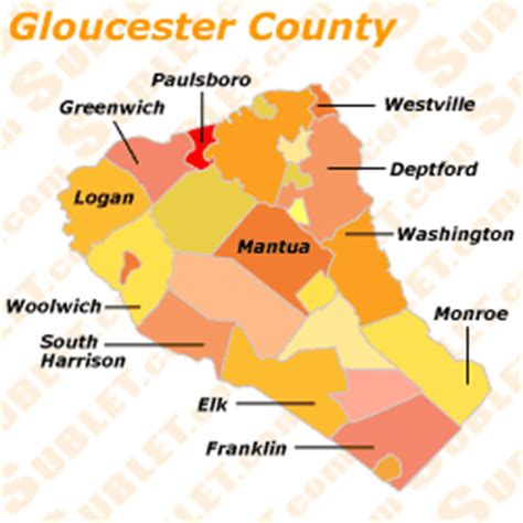 Gloucester County furnished apartments, sublets, short
