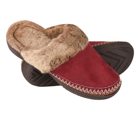 womens slippers woodlands s microsuede clog slippers