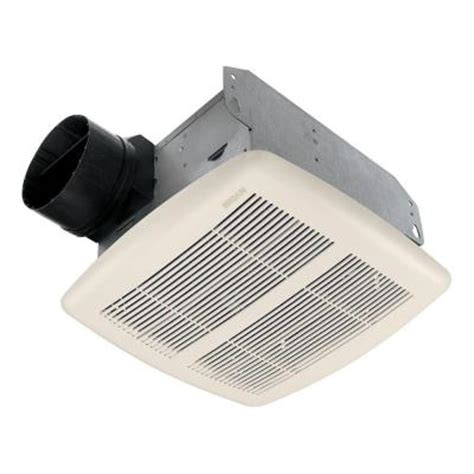 broan bathroom fan home depot broan 80 cfm ceiling exhaust bath fan energy star 784