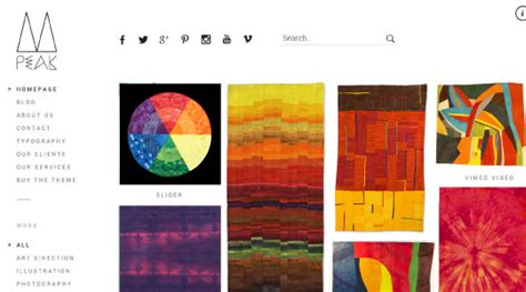 themes wordpress artist 25 amazing wordpress themes for artists textileartist org