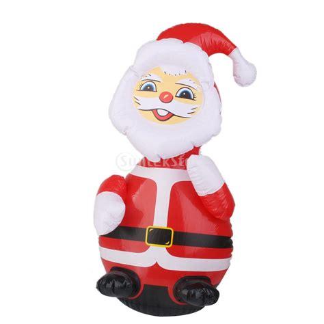 santa lawn decoration santa claus up yard lawn santa