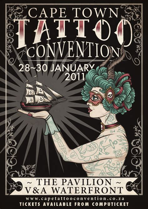 tattoo convention prices cape town interbnational tattoo convention 2011 on behance
