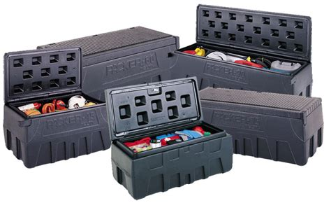 plastic truck tool box plastic poly storage chest toolboxes