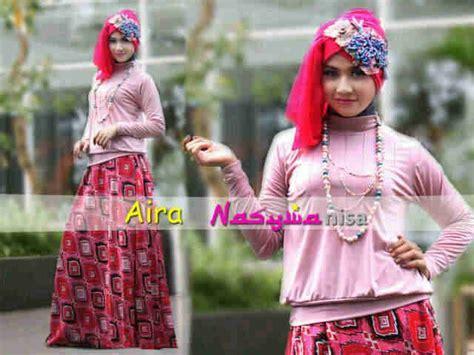 Baju Gamis Syari Nasywa nasywa aira d pink baju muslim gamis modern