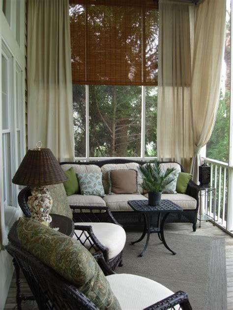Front Porch Curtains Holy Cow I This Porch I The Blinds The Curtains And Comfy Outdoor Living My