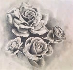 roses tattoo design drawing by pufferfishcat deviantart
