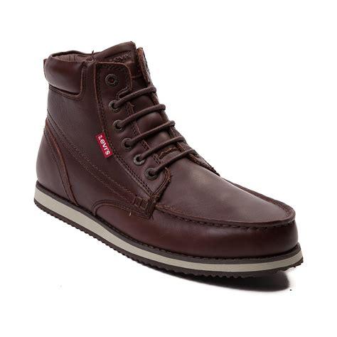 mens levi boots mens levis dean leather boot
