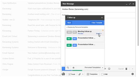 How To Use Email Templates In Gmail Bananatag How To Create A Template Email In Gmail
