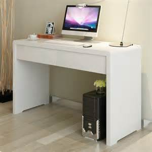 Minimalist Corner Desk by Europa Lang Modern Minimalist White Paint Composition