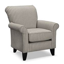 Gray Accent Chair Colette Gray 3 Pc Living Room W Accent Chair Value City Furniture