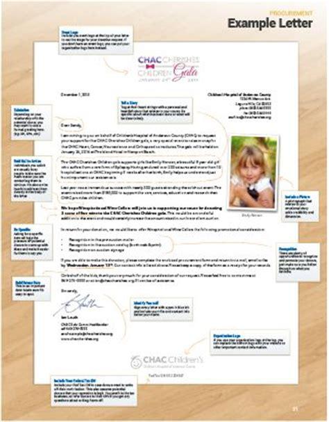 Donation Procurement Letter Auction Procurement Packet Free Customizable