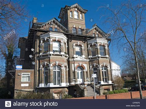 victorian gothic house victorian gothic style house in east twickenham middlesex england stock photo 44134921 alamy