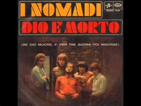 dio e morto nomadi musica e