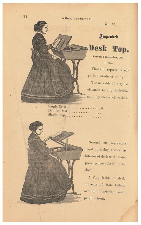 Desk Catalog by It S Back To School In 1872 Smithsonian Libraries