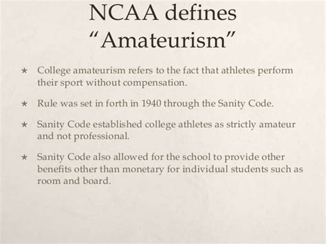 Should College Athletes Be Paid Essay by Some Definition To Better Understand The Issue Should Student Athletes Be Paid
