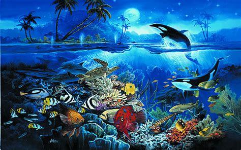fish wall mural tropical fish wall mural 3934