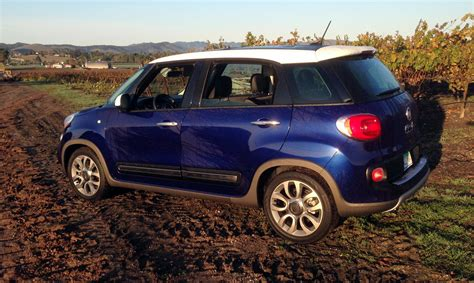 fiat 500l road road test 2016 fiat 500l trekking clean fleet report