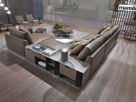 mobile divano divano angolare di design in pelle con mobile loft loft
