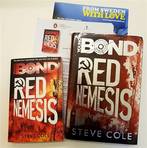 young bond red nemesis 1782952438 book review red nemesis by steve cole a young bond novel