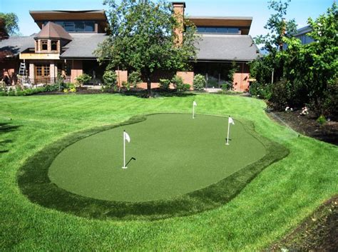 artificial putting greens for backyards 40 best images about putting green ideas on pinterest