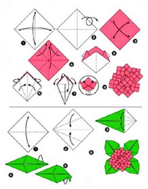 cara membuat kerajinan bunga tulip dari kertas origami kerajinan tangan anak cara membuat origami keren dan