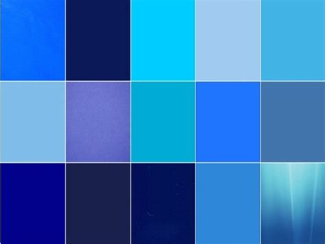 popular color 20 popular shades of blue color names