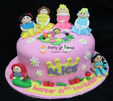 Princess Birthday Cake by Merry Go Cupcakes Cakes Disney Princess