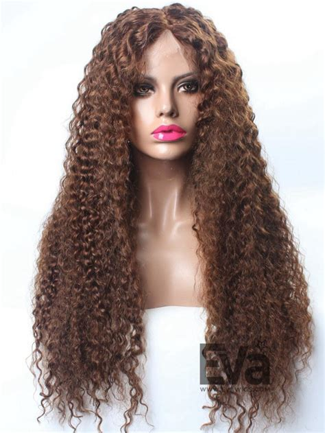 are there any full wigs made from human kinky hair that is styled in a two strand twist for black woman jessica white inspired long curly full lace wig custom