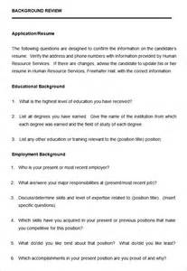 template of a questionnaire questionnaire sle sle questionnaire form