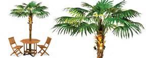 lighted palm tree umbrella the green head