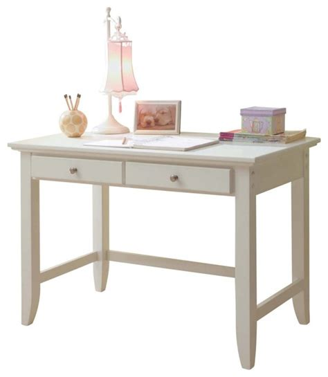 Home Styles Naples Student Desk White Modern Desks Home Styles Naples Student Desk