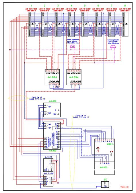 jeron intercom wiring diagram jeron apartment intercom