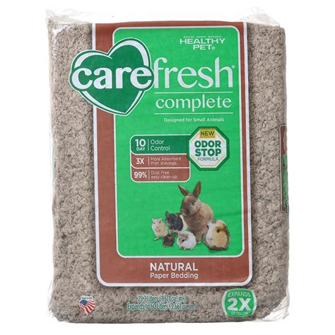 carefresh pet bedding carefresh carefresh complete natural paper bedding for