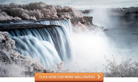 wallpaper awan petir waterfalls wallpaper untuk desktop anda