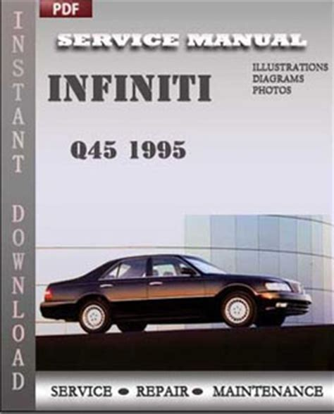 infiniti q45 1995 service guide servicerepairmanualdownload com