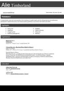 Best Resume Keywords 2016 by Resume Format 2016 12 Free To Download Word Templates
