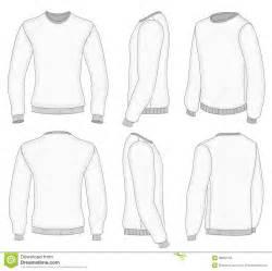 men s white long sleeve t shirt stock photography image