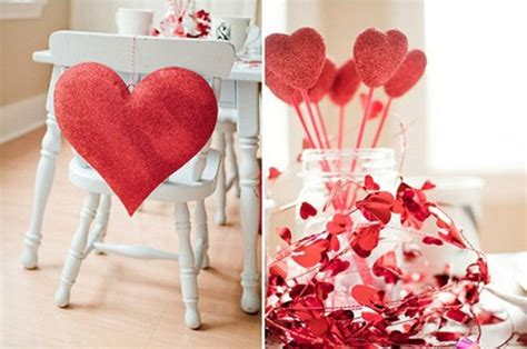 valentine decorating ideas 28 cool heart decorations for valentine s day digsdigs