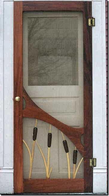 build  screen door plans wood screen doors custom wood