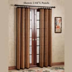 bamboo outdoor curtains curtain decorative wood rings sensational shop rods
