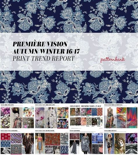 premiere vision patternbank premi 232 re vision autumn winter 2016 17 print pattern