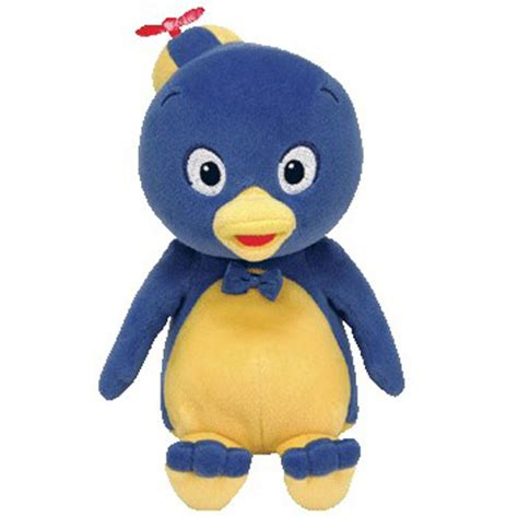 Backyardigans Plush Ty Beanie Baby Pablo The Penguin Nick Jr The