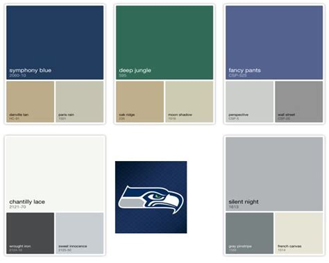 seahawks color inspiration color portfolio