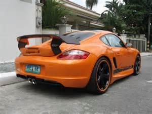 Porsche Cayman Spoiler Cayman Gt Rear Spoiler Front Bumper Side Skirts