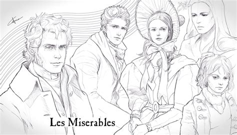 Les Miserables Coloring Pages les mis coloring pages