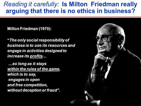 milton friedman quotes cengage resource center