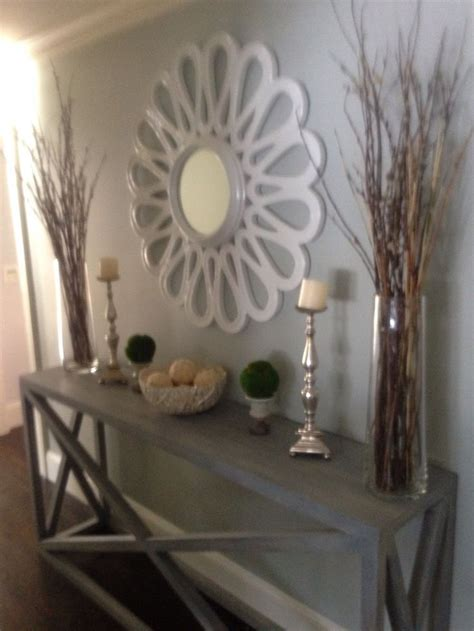 How To Decorate A Long Entryway Wall